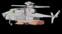 通常形式ジャイロダイン形態 VFH12B スーパーオーロランの画像(ヘリコプターに関連した画像)