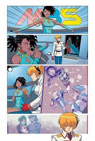 ロボテック:リミックスシリーズ第2巻のサンプルの画像(クロスに関連した画像)