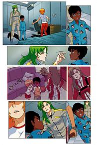 ロボテック:リミックス第1巻追加3の画像(ジーナに関連した画像)