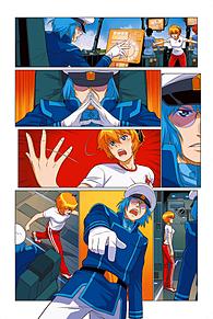 ロボテック:リミックス第1巻追加4の画像(ジーナに関連した画像)