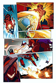 ロボテック:リミックス第1巻追加5の画像(ジーナに関連した画像)