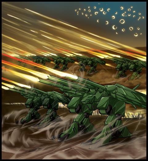 重砲撃・強襲デストロイド「HWR-03 サンダー・クラッカー」の画像 プリ画像