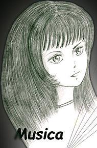 ムジカ・ノヴァ 【ペン画】の画像(クロスに関連した画像)