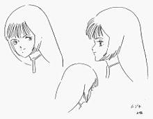 湖川友謙設定画〔顔の表情集〕の画像(日高のり子に関連した画像)