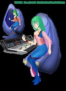 音楽プロデューサー「ムジエ」とデジタルミキサー Vi7000の画像(VIに関連した画像)