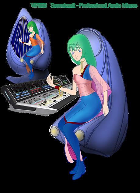 音楽プロデューサー「ムジエ」とデジタルミキサー Vi7000の画像 プリ画像