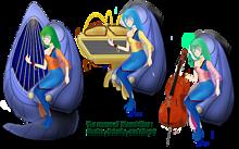 超時空騎団サザンクロス ムジカ・ムジエ・ムゼル三姉妹の画像(空に関連した画像)