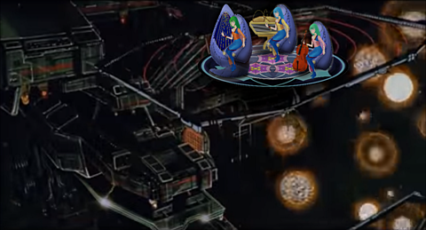 歌巫女三姉妹超時空要塞SDFN艦橋 ③ 【演奏歌唱 】の画像 プリ画像