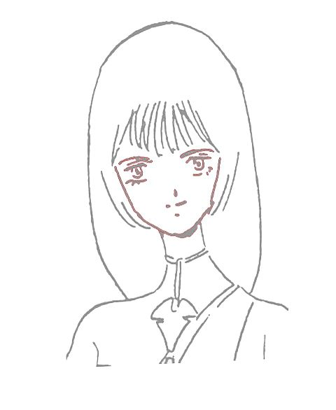 ムジカ、アレグラ、オクタビアの正面顔胸像の画像(プリ画像)