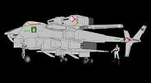 「VFH-12B スーパーオーロラン」と マリー・アンジェル大佐 プリ画像