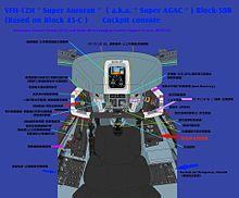 Block50-B VFH12H スーパーオーロラン 計器 プリ画像