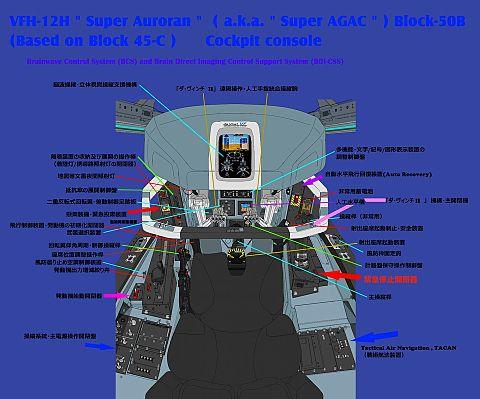 Block50-B VFH12H スーパーオーロラン 計器の画像(プリ画像)