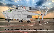 夕陽の中の VFH-12 スーパー・オーロランの画像(コックに関連した画像)