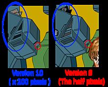 VFH-10 オーロラン Block1.5 操縦席 画質比較の画像(Robotechに関連した画像)