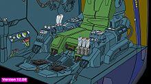可変戦闘機「VFH-10 オーロラン」核融合炉と発動機制御の画像(Robotechに関連した画像)