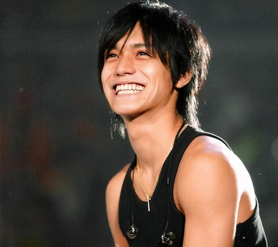 最高の笑顔。