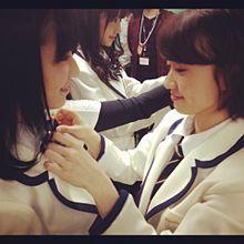 優子?ぱるる AKB48 プリ画像