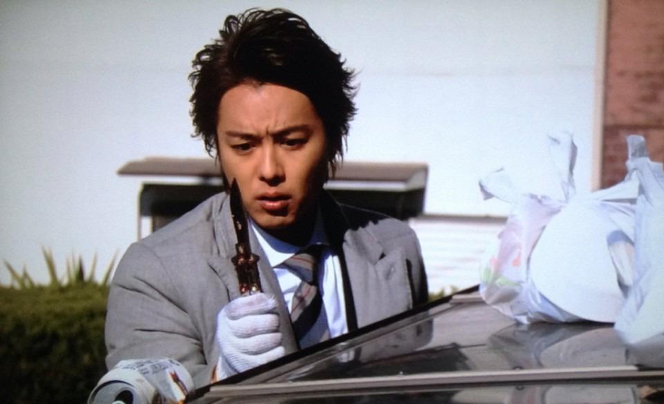EXILEのTAKAHIROの戦力外捜査官に出演したときの画像