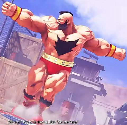 STREET FIGHTER 5 ZANGIEFの画像 プリ画像