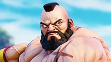 STREET FIGHTER V ZANGIEF プリ画像