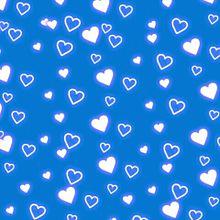 青ハート素材背景壁紙の画像(プリ画像)