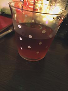 ドット柄 グラス コップ DAISO ダイソーの画像(ダイソーに関連した画像)