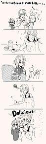 優しいゆかりんに助けられるハクさんの漫画の画像(ゆかりんに関連した画像)