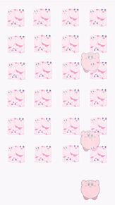 🎀*.カービィの壁紙作りました ノーマル/ピンク プリ画像