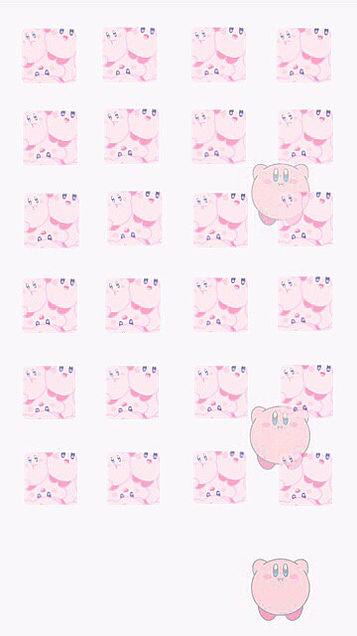 🎀*.カービィの壁紙作りました ノーマル/ピンクの画像(プリ画像)