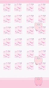 🎀*.カービィの壁紙作りました ...ノーマル/ピンクの画像(カービィに関連した画像)